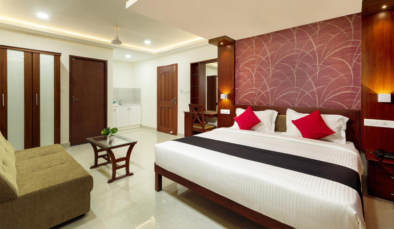 Hotel rooms in Edapally Kochi